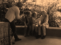 Jane Goodall behind the scenes interview